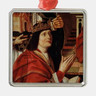 The Virgin of the Catholic Kings Christmas Ornament