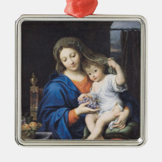 The Virgin of the Grapes, 1640-50 Christmas Ornament