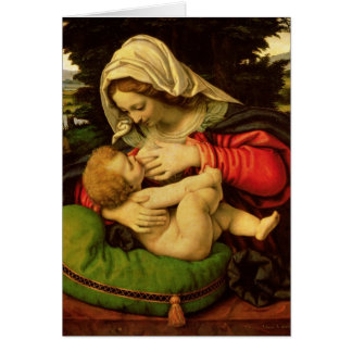 The Virgin of the Green Cushion, 1507-10 Card