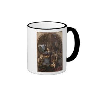 The Virgin of the Rocks c 1508 Coffee Mug