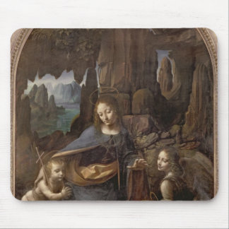 The Virgin of the Rocks , c.1508 Mouse Mat