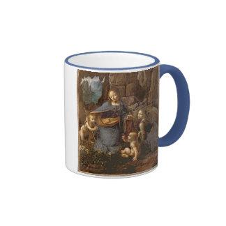 The Virgin of the Rocks Ringer Mug