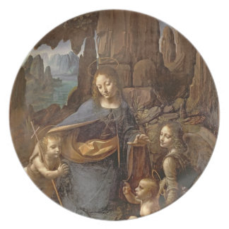 The Virgin of the Rocks Plate