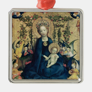 The Virgin of the Rose Bush Christmas Ornament