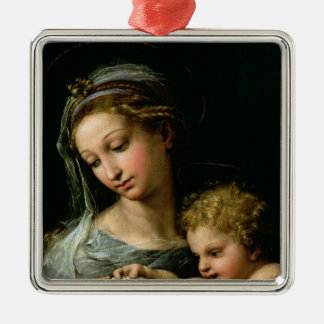 The Virgin of the Rose, c.1518 Christmas Ornament