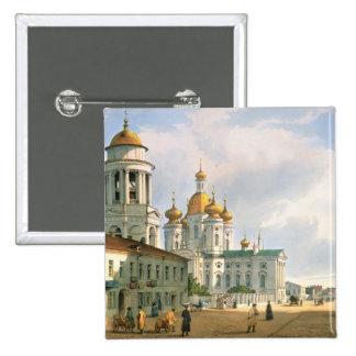The Virgin of Vladimir Church 15 Cm Square Badge