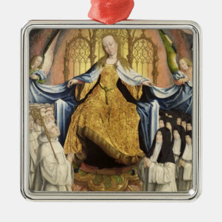 The Virgin Sheltering the Order of Citeaux Christmas Ornament