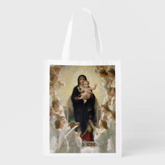 The Virgin with Angels, 1900 2 Reusable Grocery Bag