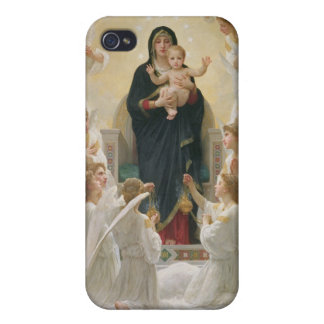 The Virgin with Angels, 1900 iPhone 4/4S Cases