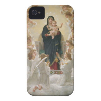 The Virgin with Angels, 1900 iPhone 4 Case-Mate Cases