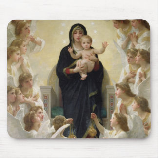 The Virgin with Angels, 1900 Mouse Mat