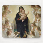 The Virgin with Angels, 1900 Mouse Pad