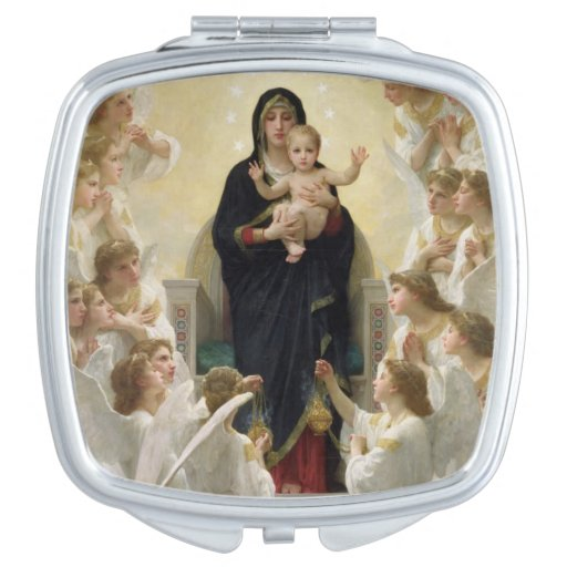 The Virgin with Angels, 1900 Mirrors For Makeup