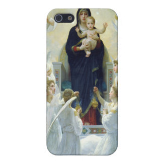 The Virgin With Angels, William Bouguereau Cover For iPhone 5