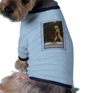 The Virginian Retro Theater Dog Tee Shirt