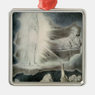 The Vision of Eliphaz, 1825 Christmas Ornament