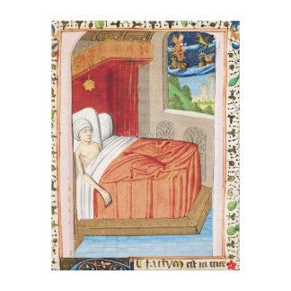 The Vision of Ezekiel Canvas Print