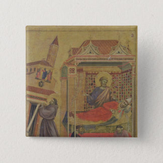 The Vision of Pope Innocent III, c.1295-1300 15 Cm Square Badge