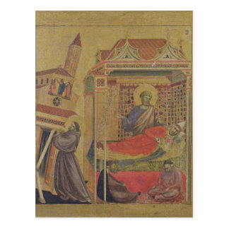 The Vision of Pope Innocent III, c.1295-1300 Postcard