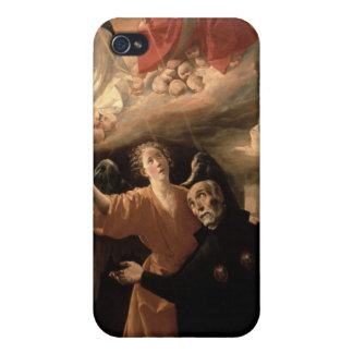The Vision of St. Alphonsus Rodriguez iPhone 4/4S Covers