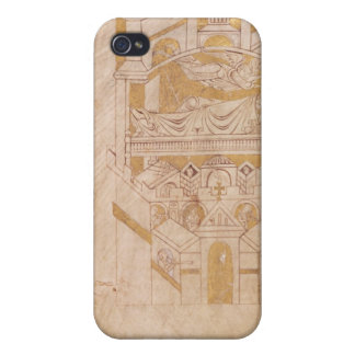 The Vision of St. Aubert Cover For iPhone 4