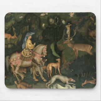 The Vision of St. Eustachius, c.1438-42 Mouse Mat