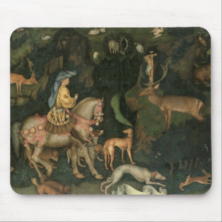 The Vision of St. Eustachius, c.1438-42 Mouse Pad