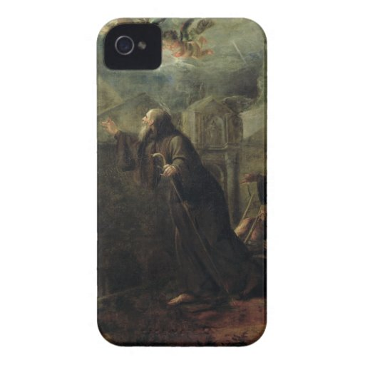 The Vision of St. Francis of Paola iPhone 4 Covers
