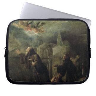 The Vision of St. Francis of Paola Computer Sleeve