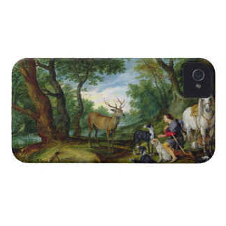 The Vision of St. Hubert, c.1620 (oil on panel) iPhone 4 Cover