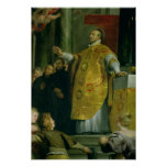 The Vision of St. Ignatius of Loyola Poster