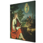 The Vision of St. John the Evangelist on Patmos Canvas Print
