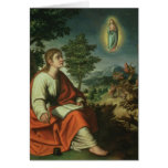 The Vision of St. John the Evangelist on Patmos Card