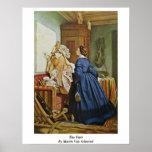 The Visit By Moritz Von Schwind Poster