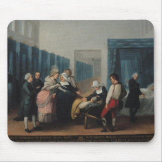 The Visit of Monsieur and Madame Necker Mouse Mat