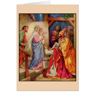 The Visit of the Wise-Men Card