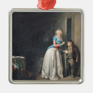 The Visit Received, 1789 Christmas Ornament