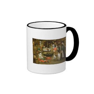 The Visit to the Farm Ringer Mug
