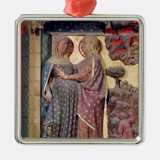 The Visitation, 1340-51 Christmas Ornament