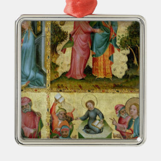The Visitation and the Dispute with Doctors Christmas Ornament