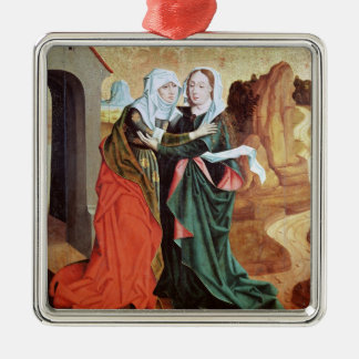 The Visitation, c.1460 Christmas Ornament