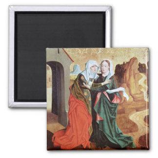 The Visitation, c.1460 Magnet