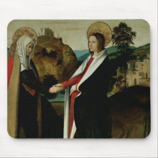 The Visitation, c.1500 Mouse Mat