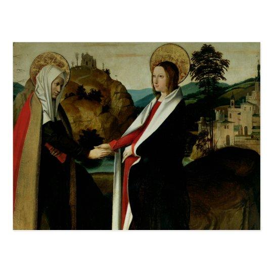 The Visitation, c.1500 Postcard