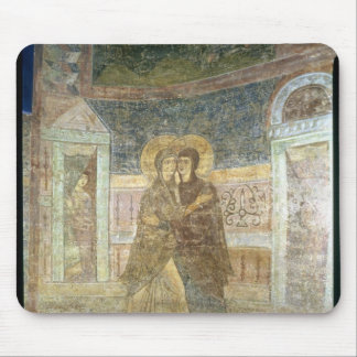 The Visitation, detail from the chapel interior Mouse Mat