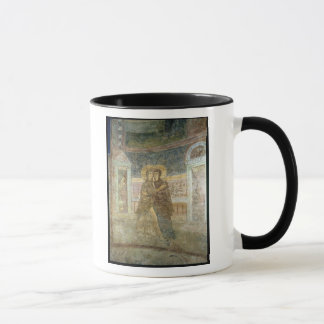 The Visitation, detail from the chapel interior Mug