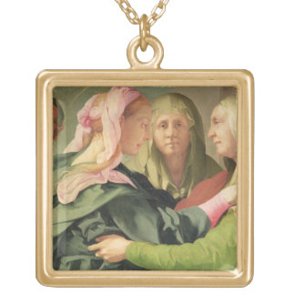 The Visitation (detail of 60438) Gold Plated Necklace