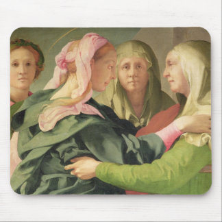 The Visitation (detail of 60438) Mouse Mat