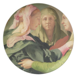 The Visitation (detail of 60438) Plate