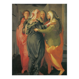 The Visitation - Jacopo Da Pontormo Poster